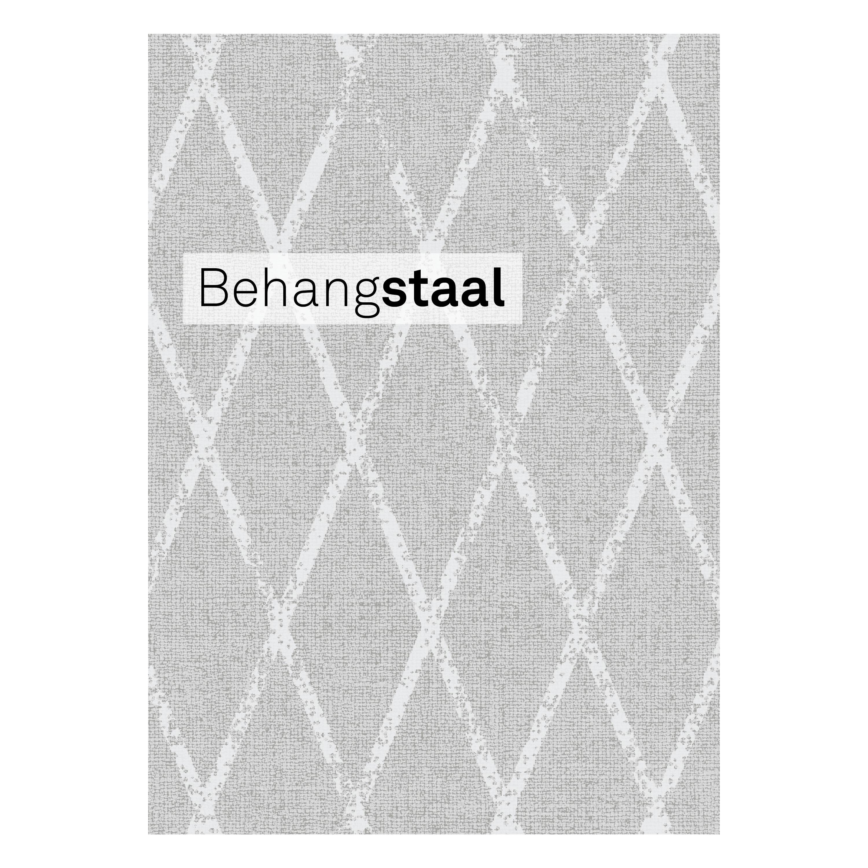 Behangstaal vliesbehang wieber linnen beton (dessin 105742)