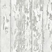 Vliesbehang hout wit (dessin 105745)