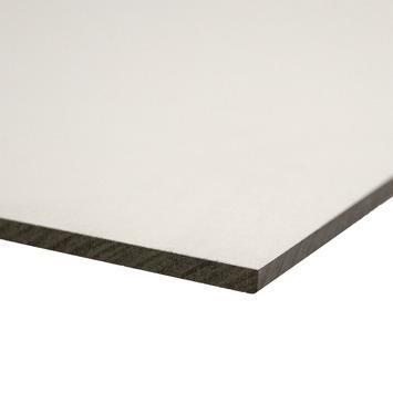 Compactplaat 122x61 cm dikte 6 mm wit