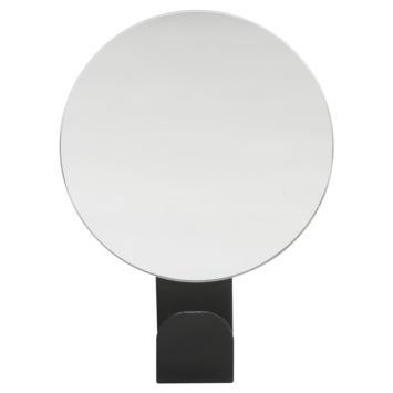 Sealskin Haak Brix Zwart met Spiegel