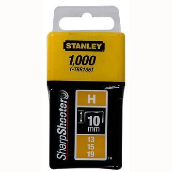 Stanley nieten 10mm type h 1000 st