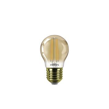 Philips LED-filament kogel E27 5W(=32W) 350 lumen gold dimbaar