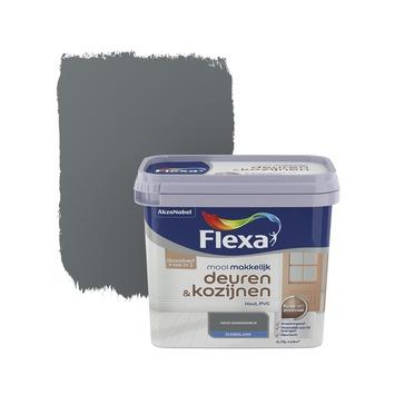 Flexa Mooi Makkelijk deuren&kozijnen donkergrijs zijdeglans 750 ml