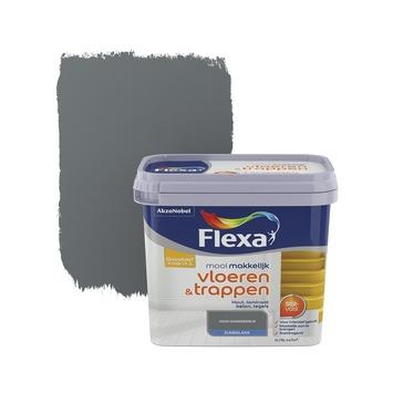 Flexa Mooi Makkelijk vloeren&trappen donkergrijs zijdeglans 750 ml