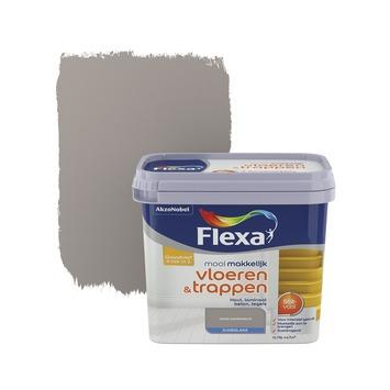 Flexa Mooi Makkelijk vloeren&trappen warmgrijs zijdeglans 750 ml