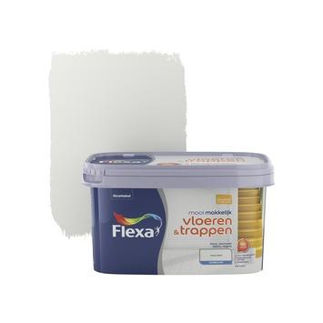 Flexa Mooi Makkelijk vloeren&trappen ijswit zijdeglans 2,5 liter
