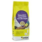 Weber SG voegmiddel waterdicht lichtgrijs 4 kg