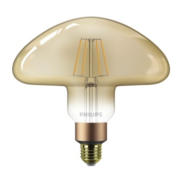 Philips LED Giant Mushroom E27 30W filament goud dimbaar