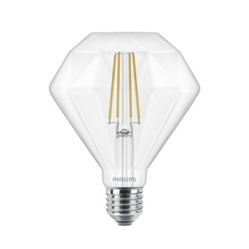 Philips LED Giant diamond E27 40W filament helder dimbaar