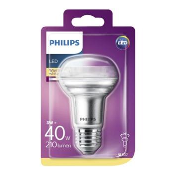 Philips LED reflector R63 3W(=40W) 210lm warm wit