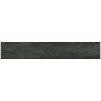 Vloertegel Smokey Mountains Black 20x120 cm 1,44 m²