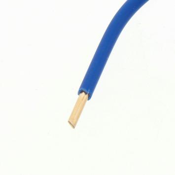HANDSON Installatiedraad VD 6 mm² blauw 2,5 meter