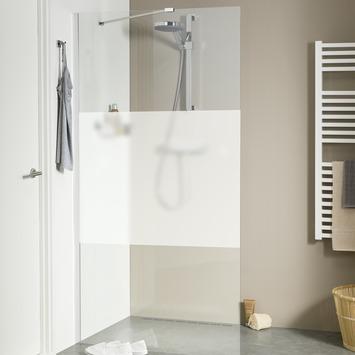 Get Wet Inloopdouche Style 138x195 cm met Gesatineerde Band