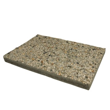 Grindtegel Wit/Geel 60x40 cm - Per Tegel / 0,24 m2