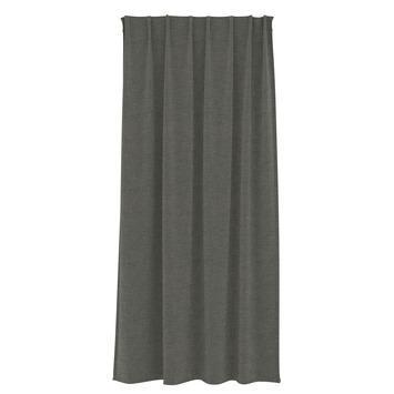 Le Noir & Blanc kant en klaar gordijn verduisterend antraciet (1263) 140x270 cm