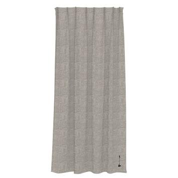 vtwonen kant en klaar gordijn deels verduisterend Groove wit/grijs (1272) 140x270 cm