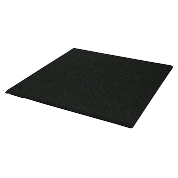 Terrastegel Rubber Zwart 40x40 cm - 40 Tegels / 6,40 m2
