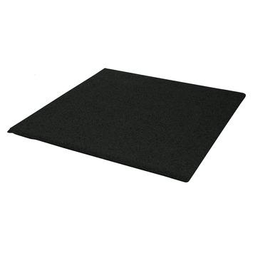 Terrastegel Rubber Zwart 40x40 cm - 240 Tegels / 38,40 m2