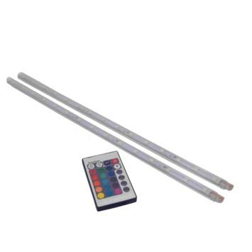 Prolight LED-strips gekleurd 40 cm met afstandsbediening (IP20) 2 stuks