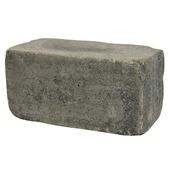 Stapelblok getrommeld antraciet 30x15x15 cm (palletlaag 80 stuks)
