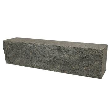 Stapelblok Beton Basalt Antraciet 60x15x12 cm - 48 Stuks