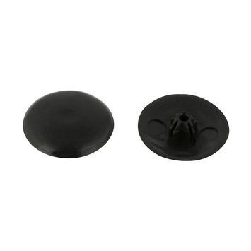 KARWEI afdekkapje zwart (15 stuks)