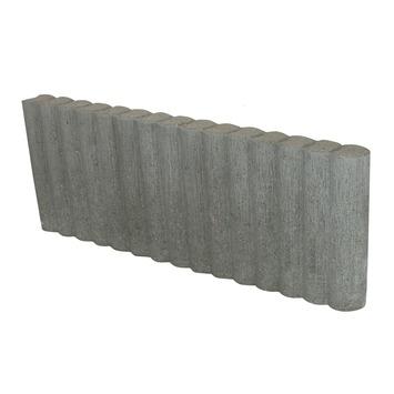 Palissade Beton Grijs 66,6x25x6 cm - 54 Stuks