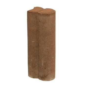 Palissade Beton Bruin 25x8,3x6 cm - 420 Stuks