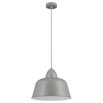 KARWEI hanglamp Julien mat licht grijs Ø 34cm