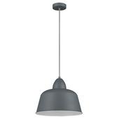 KARWEI hanglamp Julien mat donkergrijs Ø 34cm