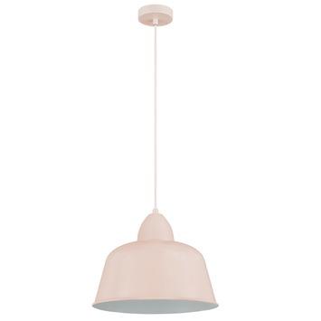 KARWEI hanglamp Julien mat roze Ø 34cm
