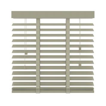 KARWEI horizontale houten jaloezie 50 mm leem (945) 100 x 130 cm (bxh)
