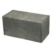 Stapelblok plano antraciet 30x15x15cm (palletlaag 96 stuks)