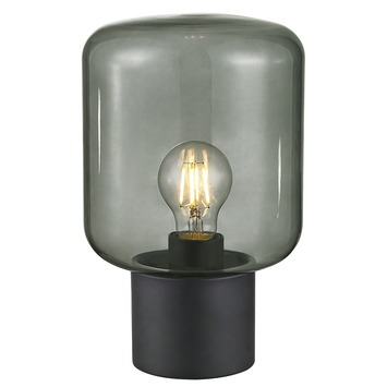 KARWEI tafellamp Juno M rookglas