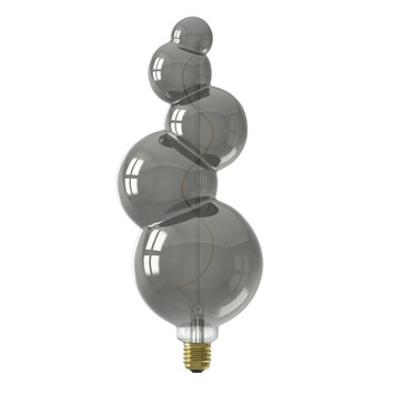 Calex Alicante LED-lamp E27 4W 60lumen titanium dimbaar
