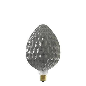 Calex Sevilla LED-lamp E27 4W 60 lumen titanium dimbaar
