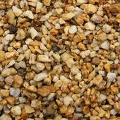 Siersplit Safari geel nuance 7-15 mm (zak 20 kg = ca. 15 ltr) (palletvoordeel 63 stuks)