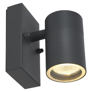 KARWEI buitenlamp buitenlamp Owen antraciet 1-lichts met dag/nacht sensor