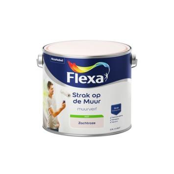 Flexa Strak op de Muur muurverf zachtroze 2,5 l