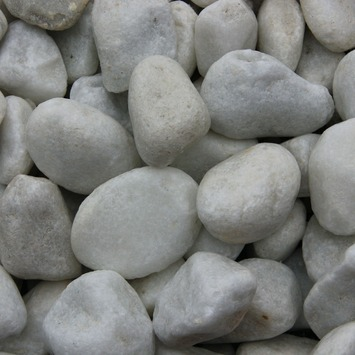 Grind Keien Carrara Wit 25-40 mm - Per Zak á 20 kg
