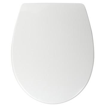 Pressalit Universele WC bril Wit Kunststof met Softclose