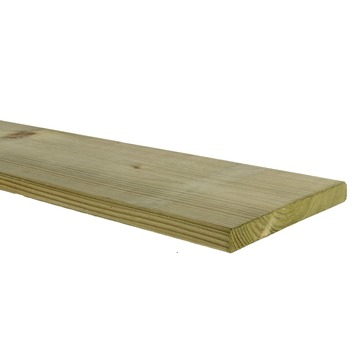 Tuinplank geschaafd ca. 1,6x14 cm, lengte 360 cm