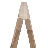 Schraag hout 79x80 cm