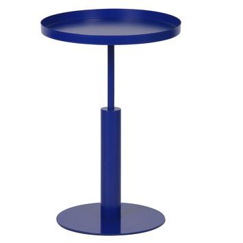WOOOD bijzettafel Silke blauw Ø40 cm