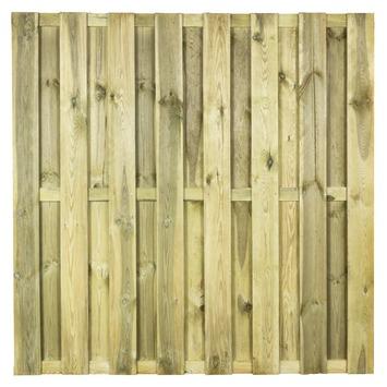 Schutting Solid grenenhout ca. 180x180 cm recht