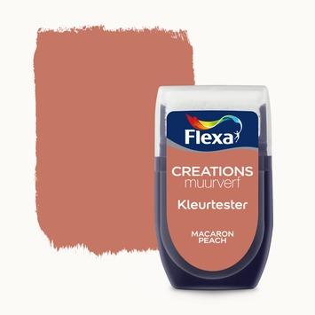 Flexa Creations muurverf Kleurtester Macaron Peach mat 30ml