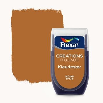 Flexa Creations muurverf Kleurtester Indian Spice mat 30ml