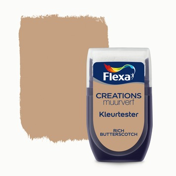 Flexa Creations muurverf Kleurtester Rich Butterscotch 30 ml