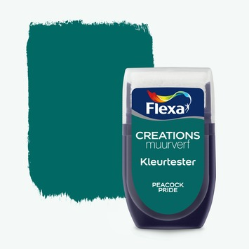 Flexa Creations kleurtester peacock pride