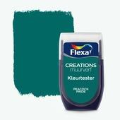 Flexa Creations kleurtester peacock pride